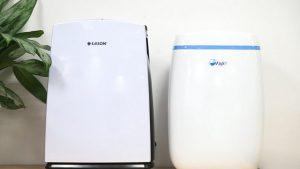 so sánh máy hút ẩm fujie HM-614EB với edison 12B