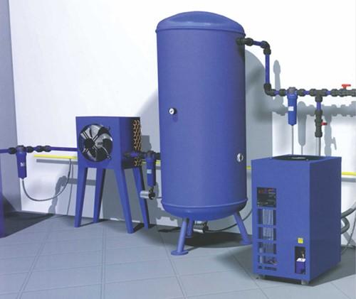 Máy sấy khí thường được sử dụng tại các doanh nghiệp