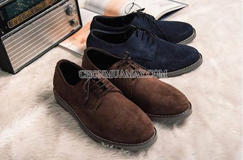 Bảo quản giày da lộn nơi khô thoáng