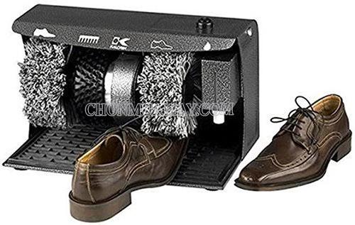Thường xuyên vệ sinh giày bằng máy đánh giày