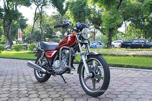 Suzuki GN125 thật đơn giản nhưng đầy cá tính
