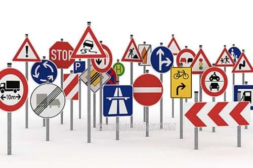 Các biển báo giao thông cần nhớ