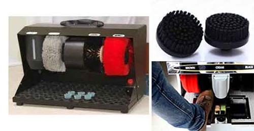 Máy đánh giày cho hiệu quả vệ sinh cao