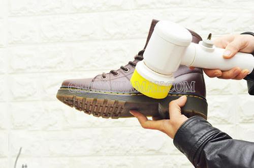Máy đánh giày cầm tay mini sử dụng đơn giản