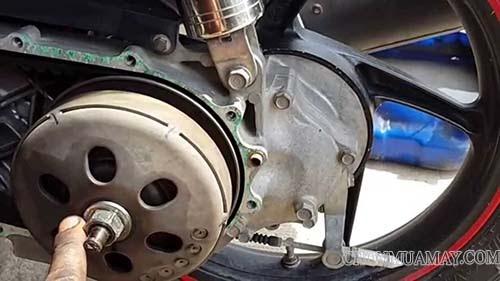 Sửa xe máy Airblade kêu rè rè