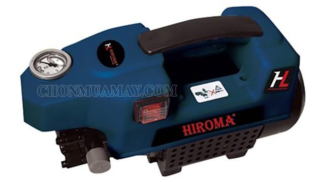 Máy rửa xe Hiroma có hiệu suất phun rửa cao