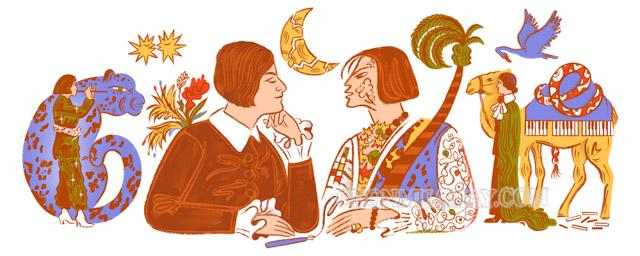 Biểu tượng mà Google Doodle dành cho Else Lasker-Schüler