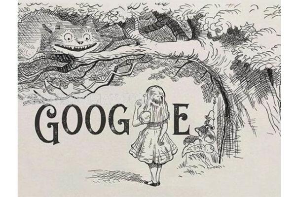 Hình ảnh bức họa trên Google Doodle