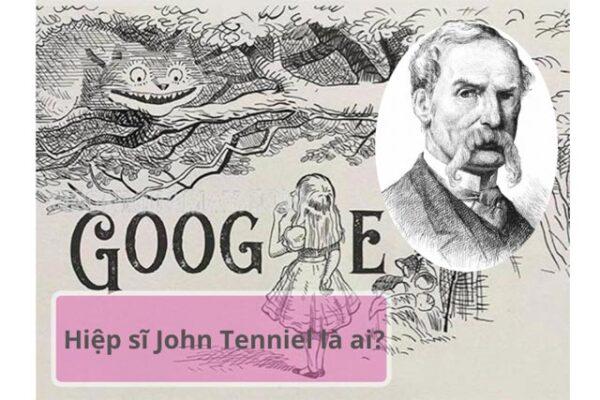 Hiệp sĩ John Tenniel là một họa sĩ tài năng của Anh