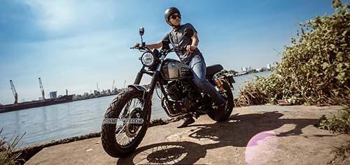 Xe Moto Classic - Dòng xe cổ điển dành cho phái mạnh