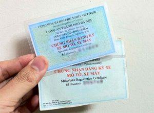 Hồ sơ thủ tục đăng ký xe máy