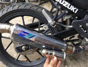 Chế ống tiêu âm giảm thanh xe máy giúp làm giảm tiếng ồn của pô xe