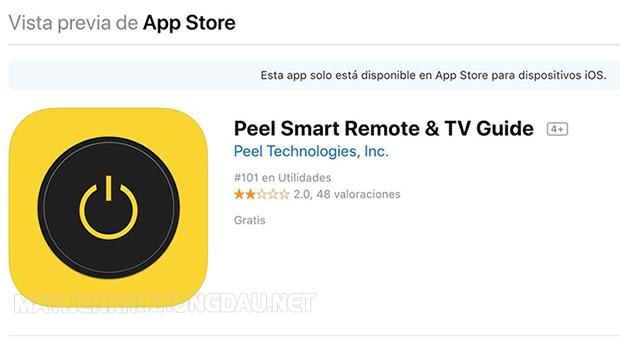 phan-mem-Peel Universal Smart TV Remote Control