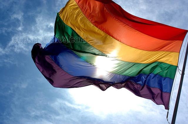 Màu trên lá cờ của những người thuộc LGBT