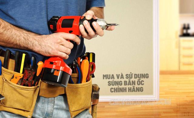 Hãy tỉnh táo lựa chọn các sản phẩm súng bắn ốc chính hãng