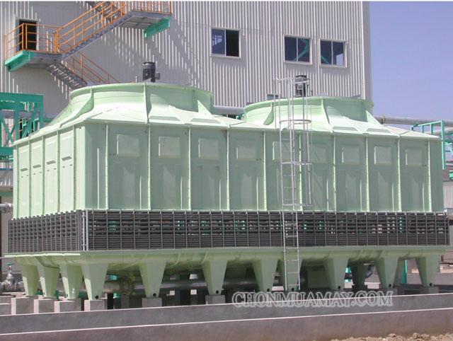 Tháp giải nhiệt giúp ích rất nhiều cho xí nghiệp