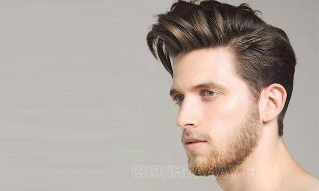Kiểu tóc Pompadour độc lạ