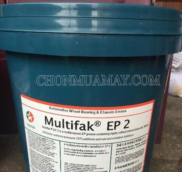 Mỡ chịu tải Caltex Multifak Moly EP 2